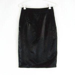 Black PINK TARTAN pencil skirt 2